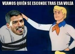 Enlace a Espectacular golazo de Suárez en el Coliseum
