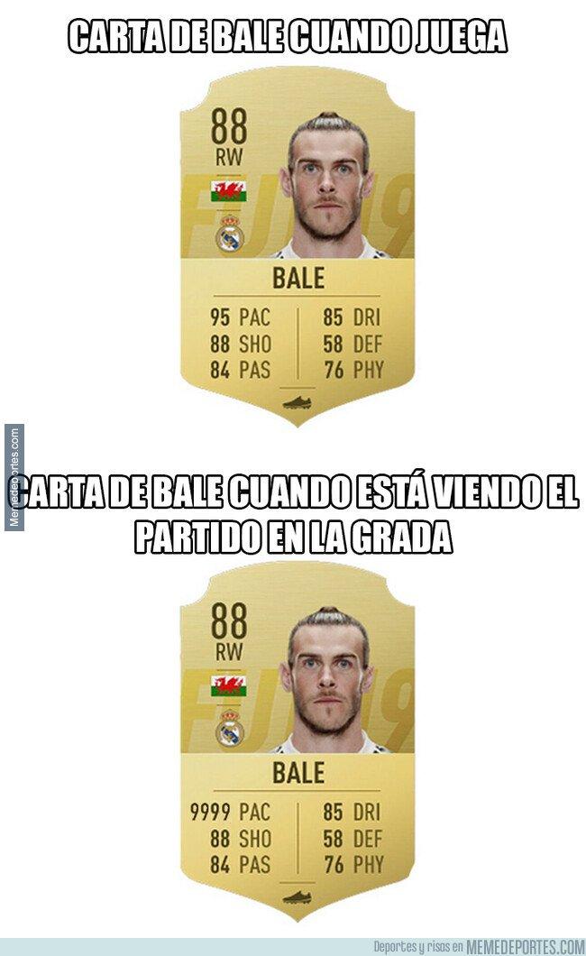 1060780 - Bale, el más rápido hasta para irse del estadio