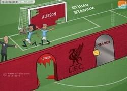 Enlace a Defensa del Liverpool este año