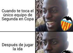 Enlace a El Valencia se las prometía muy felices
