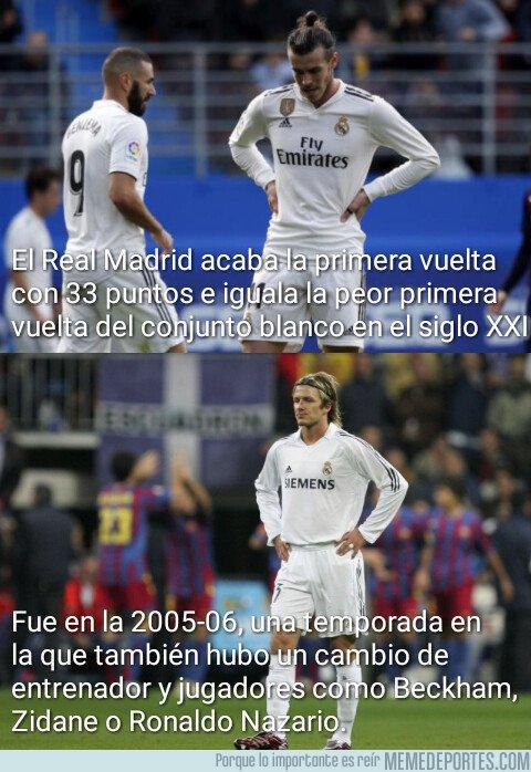 1061382 - El Madrid iguala su peor primera vuelta del siglo