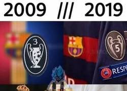 Enlace a #10yearchallenge de Barça y Madrid