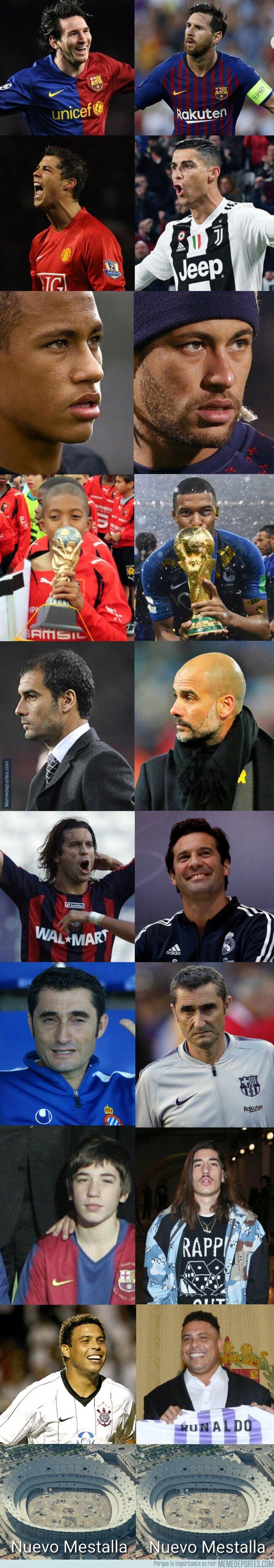 1061651 - Algunos #10yearschallegue del mundo del fútbol