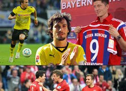 Enlace a El Bayern Munich ya no podrá fichar a ningún jugador del Borussia Dortmund