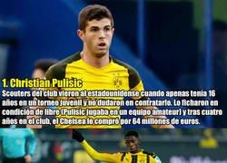 Enlace a 7 futbolistas que compró el Borussia Dortmund y luego vendió por mucho más dinero