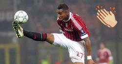 Enlace a Este gol de Boateng con el Milan al Barça es quizás el mejor gol de su carrera