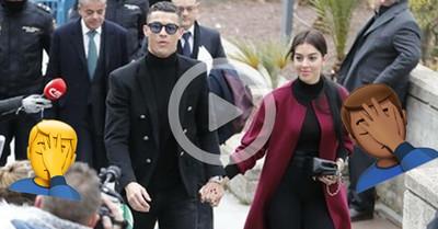 1062196 - La entrada de Cristiano en la Audiencia de Madrid ha sido un despropósito total