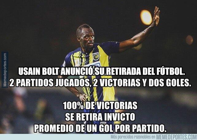 1062229 - Usain Bolt termina su carrera como futbolista