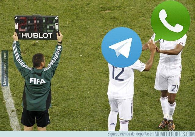 1062236 - Siempre que cae Whatsapp, entra Telegram, todo el mundo a usarlo