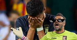 Enlace a Stefano Sorrentino, primer portero de la Serie A en pararle un penalti a Cristiano reveló su 'secreto'