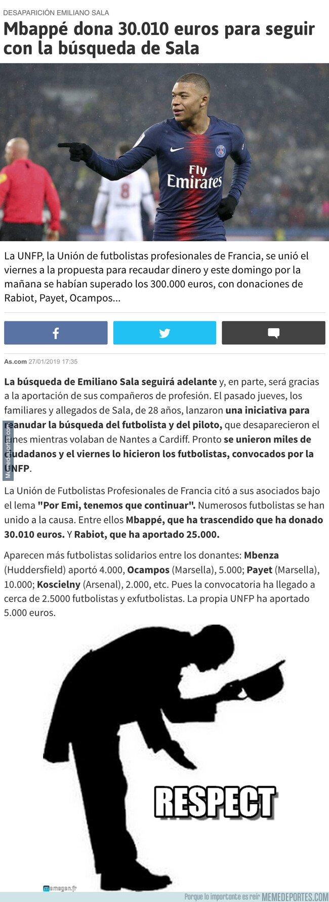 1062664 - La sorprendente donación de un jugador del PSG para que sigan buscando a Emiliano Sala