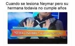 Enlace a Neymar será baja para la Champions