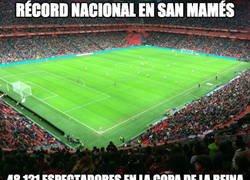 Enlace a Increíble lo del fútbol femenino entre el Athletic y Atleti en San Mamés