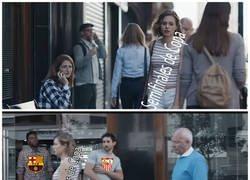Enlace a El Barcelona corta las aspiraciones del Sevilla