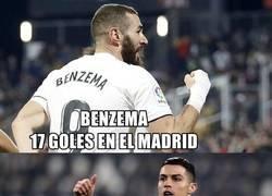 Enlace a Benzema empieza a pisar como cristiano
