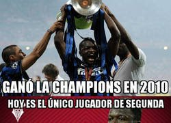 Enlace a Muntari, un campeón de Europa en el Albacete