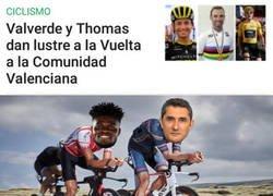 Enlace a Valverde y Thomas se pasan al ciclismo