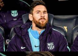 Enlace a Messi solo quiere salir