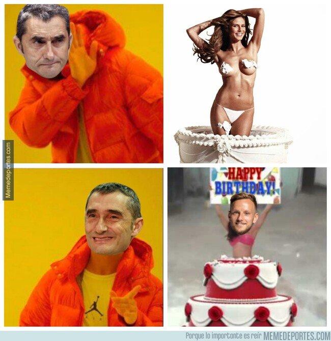 1063846 - Hoy es 9 de Febrero y Valverde tiene claras sus prioridades para su cumpleaños (Felicidades Txingurri!)