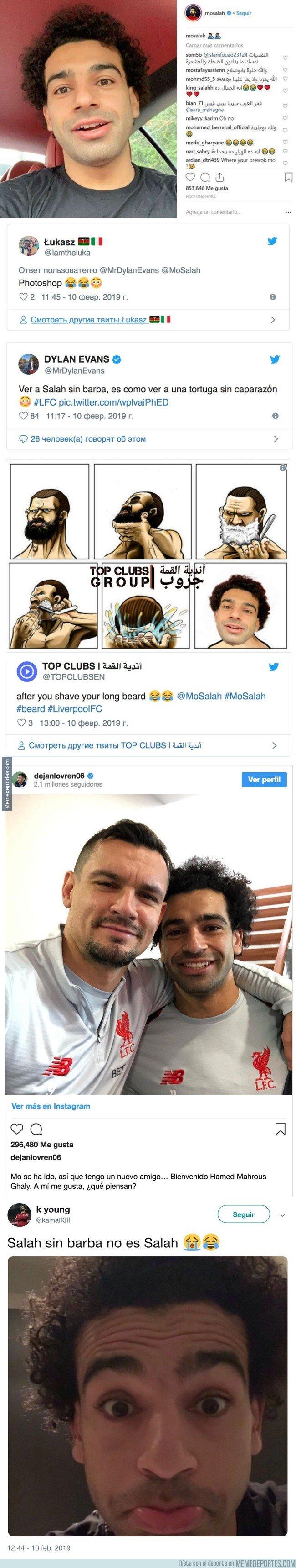 1064131 - Salah cambia de look, se quita años de encima y así reacciona la gente
