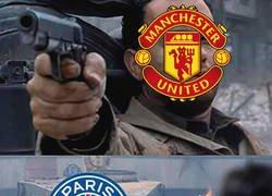 Enlace a El United frente al PSG
