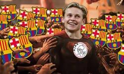 Enlace a Los culés confían en que De Jong elimine al Madrid