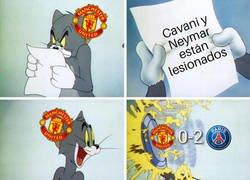 Enlace a Le duró poco la alegría al United