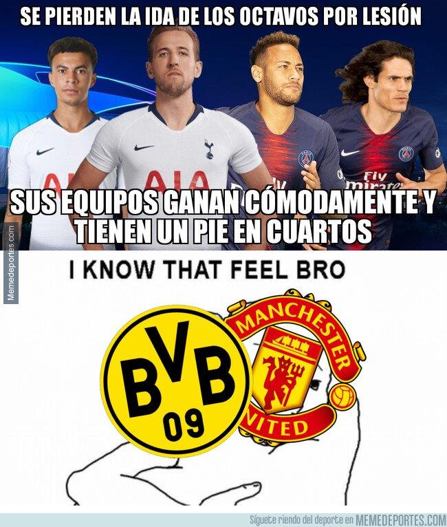 1064425 - Dortmund y United no aprovecharon las bajas de sus rivales