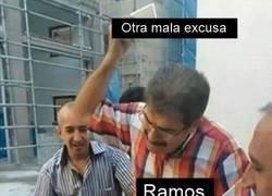 Enlace a Lo único malo de Ramos es no tener a alguien que le recuerde cerrar la boca de vez en cuando