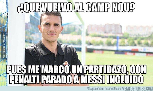 1064697 - Gran puesta en escena de Masip en su regreso al Camp Nou