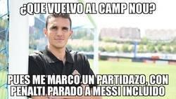 Enlace a Gran puesta en escena de Masip en su regreso al Camp Nou