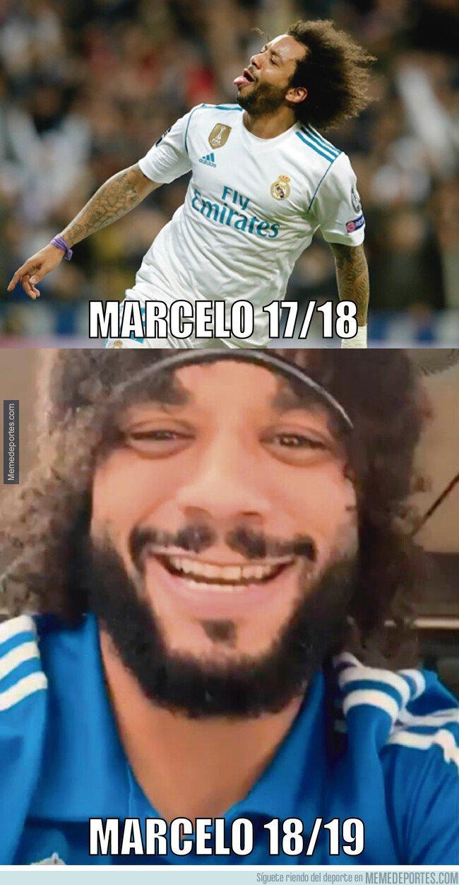 1064923 - Las dos temporadas de Marcelo en dos imágenes