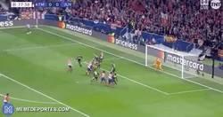 Enlace a Goooool de Giménez que adelanta al Atleti en el Metropolitano frente a la Juventus