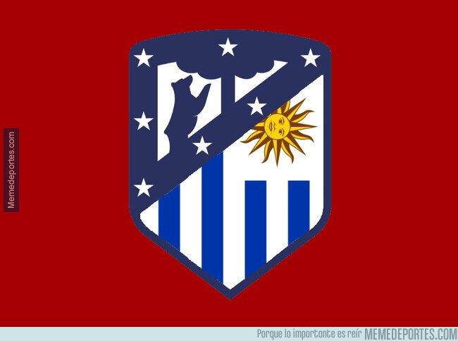 1065188 - El Atlético actualiza su escudo en honor a sus centrales