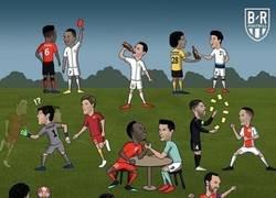 Enlace a Resumen de la ida de los octavos de Champions, por @brfootball