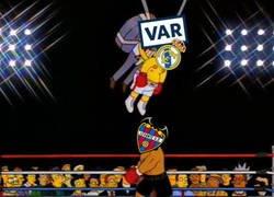 Enlace a El Madrid fue rescatado por el VAR