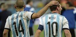 Enlace a Mascherano revela por qué Messi no triunfa con Argentina como con el Barça