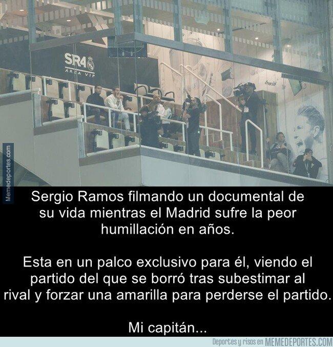 1066893 - El capitán del Real Madrid. Así no, Sergio, así no
