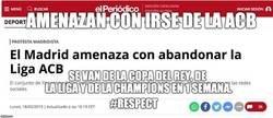 Enlace a No era un farol, el Real Madrid se marcha de las competiciones
