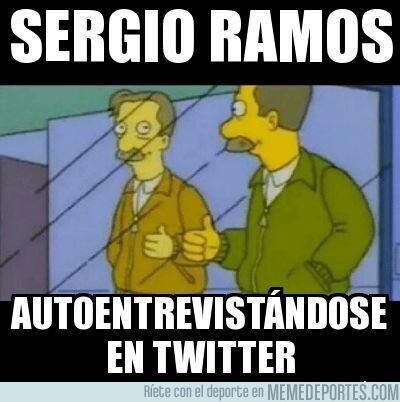 1067635 - La surrealista autoentrevista de Ramos en Twitter