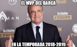 Enlace a Florentino echando a Cristiano y no fichando a nadie, regala la temporada al Barça. Y vuelve a estar con Zidane como estaba