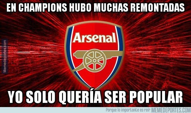 1068340 - El Arsenal solo quería ser como los equipos Champions