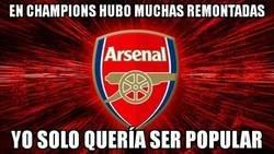 Enlace a El Arsenal solo quería ser como los equipos Champions