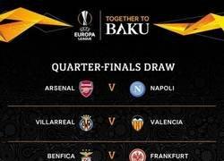 Enlace a Y así quedaron los cruces de cuartos de la UEFA Europa League