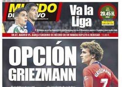 Enlace a El Barça vuelve a interesarse en Griezmann