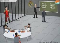 Enlace a Vuelven los métodos de Zidane, por @zezocartoons