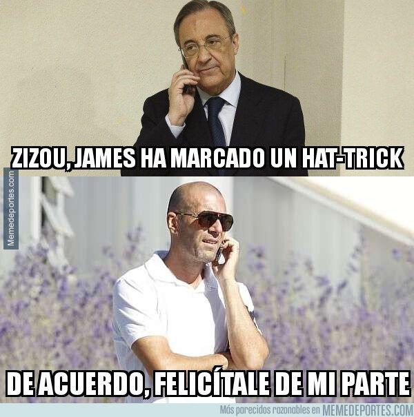 1068793 - Hasta ahí llega el interés de Zidane por James