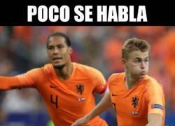 Enlace a ¿Es Holanda la selección con la mejor pareja de centrales?