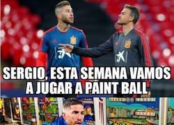 Enlace a Es Paint Ball, Sergio, no Pinball
