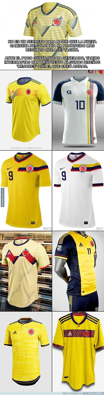 1069227 - Algunos diseños alternativos que Adidas debió considerar con la camiseta de Colombia